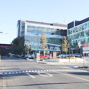 Wagga Wagga Base Hospital Main Entry Opens